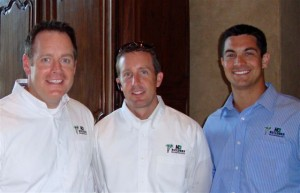 Todd Hawk, Owner; Gus Hetzel, Executive Vice-President of Sales and Client Relations; Rush Lowther, Vice-President of Sales